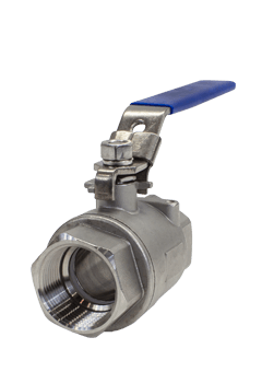 1000 WOG 2-piece Stainless Steel Ball Valve B01 Flow+ Image
