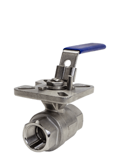 1000 WOG 2-piece Stainless Steel Ball Valve B03 Flow+ Image