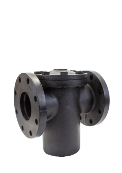 Class 125 Flanged Cast Iron Basket Strainer from SSI Image