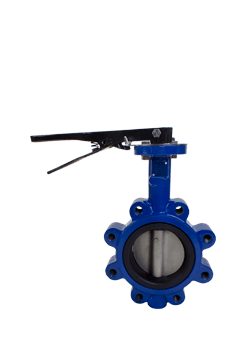 Class 125 Lug Cast Iron Resilient Seated Butterfly Valve from NCI Canada Image