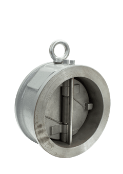 Class 150 Cast Carbon Steel Double Door Check Valve from SSI Image