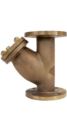 Class 150 Flanged Bronze Y-Strainer from SSI Image