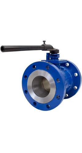 Class 150 1-Piece Low Temperature Carbon Steel Ball Valve ZR1 from Flow+ Image