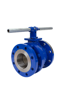 Class 150 2-Piece Low Temperature Carbon Steel Ball Valve ZF1 from Flow+ Image