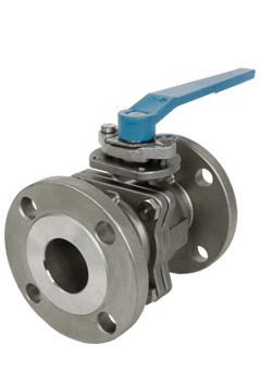 Class 150 2-piece Non Direct Mount Stainless Steel Ball Valve ZF1 from Flow+ Image