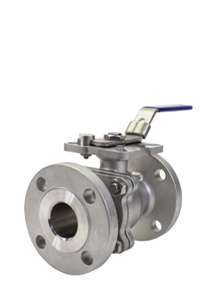 Class 150 2-piece Stainless Steel Ball Valve ZF1 from Flow+ Image