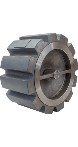 Class 150 Wafer Carbon Steel Center Guided Silent Check Valve from SSI Image