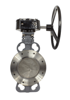 Class 150 Wafer Style Carbon Steel High Performance Butterfly Valve from flow+ Image