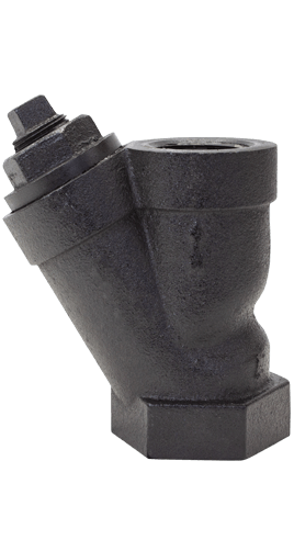 Class 250 NPT Cast Ductile Iron Y-Strainer from SSI Image