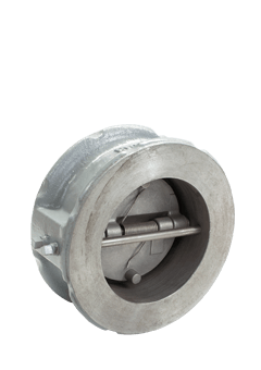 Class 300 Cast Carbon Steel Double Door Check Valve from SSI Image