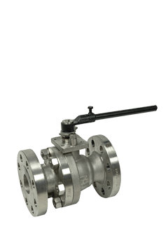 Class 300 Stainless Steel 2-Piece Ball Valve ZF3 from Flow+ Image