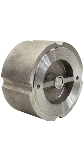 Class 300 Wafer Stainless Steel Center Guided Silent Check Valve from SSI Image