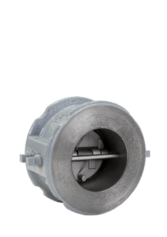 Class 600 Cast Carbon Steel Double Door Check Valve from SSI Image