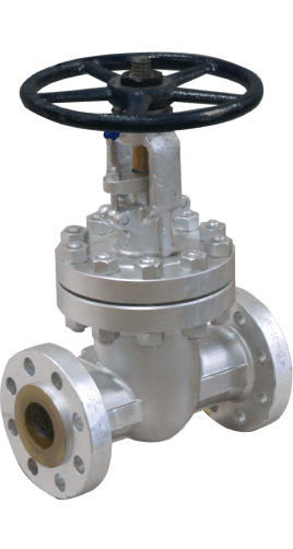 Class 600 Cast Carbon Steel Gate Valve from Sharpe Image