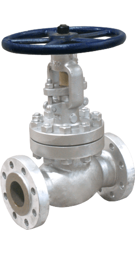 Class 600 Cast Carbon Steel Globe Valve from Sharpe Image