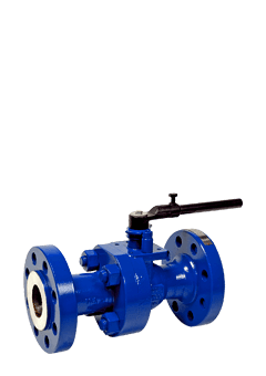 Class 600 Low Temperature Carbon Steel 2-Piece Ball Valve ZF6 from Flow+ Image