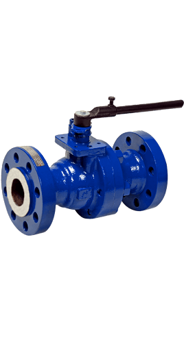 Class 600 Low Temperature Carbon Steel 2-Piece Ball Valve ZR6 from flow+ Image