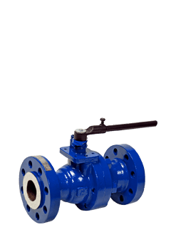 Class 600 Low Temperature Carbon Steel 2-Piece Ball Valve ZR6 from flow+ Brochure