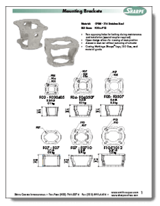 Mounting Kit from Sharpe Brochure